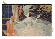 Punishing The Page  Carry-all Pouch by Georges Barbier