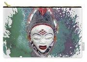 Punu Mask - Maiden Spirit Mukudji Carry-all Pouch