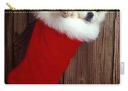 Puppy In Christmas Stocking Carry-all Pouch