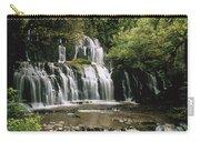 Purakaunui Falls And Tropical Carry-all Pouch