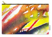 Pure Color Inspiration Abstract Painting Linea Forces Carry-all Pouch
