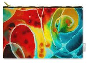 Pure Joy 1 - Abstract Art By Sharon Cummings Carry-all Pouch