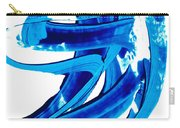 Pure Water 304 - Blue Abstract Art By Sharon Cummings Carry-all Pouch