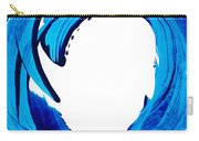 Pure Water 312 - Blue Abstract Art By Sharon Cummings Carry-all Pouch