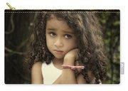 Purity Of Sadness Carry-all Pouch by Evelina Kremsdorf