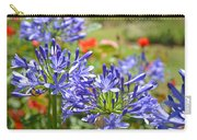 Purple Agapanthas Carry-all Pouch