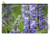 Purple Alaskan Lupines Carry-all Pouch