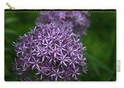 Purple Allium Carry-all Pouch