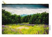 Purple And Mountains And Majesty Carry-all Pouch