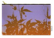 Purple And Orange Haiku Carry-all Pouch