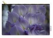 Purple And Violet Wisteria Blossom  Carry-all Pouch