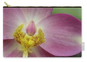 Purple And Yellow Orchid Carry-all Pouch