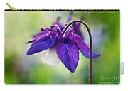 Purple Aquilegia Carry-all Pouch
