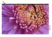 Purple Autumn Mum Carry-all Pouch
