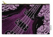 Purple Bass Carry-all Pouch by Chris Berry