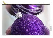 Purple Baubles Carry-all Pouch