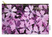Purple Beauty Phlox Carry-all Pouch
