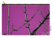 Purple Branches Carry-all Pouch