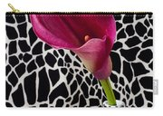Purple Calla Lily Carry-all Pouch