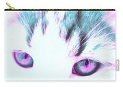 Purple Cat Eyes Carry-all Pouch