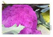 Purple Cauliflower Carry-all Pouch
