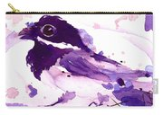 Purple Chick Carry-all Pouch
