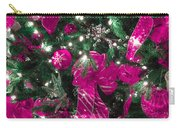 Purple Christmas Carry-all Pouch