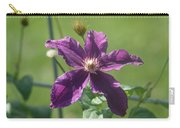 Purple Clemaits   # Carry-all Pouch