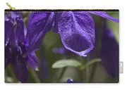 Purple Columbine 3 Carry-all Pouch