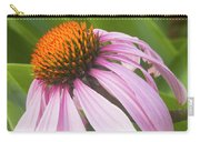 Purple Cone Flower Echinacea Carry-all Pouch