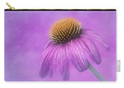Purple Coneflower - Echinacea Purpura Carry-all Pouch