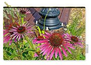 Purple Coneflowers By Former Railroad Depot In Pipestone-minnesota Carry-all Pouch