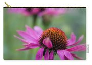 Purple Coneflowers In A Row Carry-all Pouch
