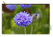Purple Cornflower Carry-all Pouch