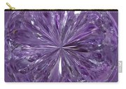 Purple Crystal Gem Carry-all Pouch