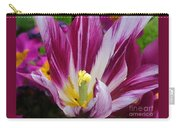 Purple Dual Coloured Tulip Carry-all Pouch