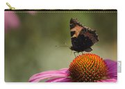 Purple Echinacea Flower Carry-all Pouch