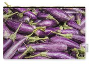 Purple Eggplant Carry-all Pouch