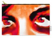 Purple Eyes - Marcello Cicchini Carry-all Pouch