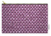 Purple Fabric Carry-all Pouch
