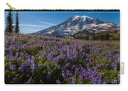 Purple Fields Forever And Ever Carry-all Pouch