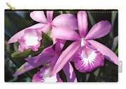 Purple Flock Of Cattleya Orchids Carry-all Pouch