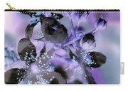 Purple Flower Abstract  2 Carry-all Pouch
