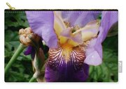 Purple Flower After Rainfall Carry-all Pouch by Doc Braham
