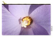 Purple Flower Square Carry-all Pouch