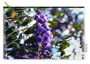 Purple Flowering Tree Carry-all Pouch