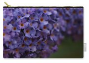 Purple Flowers 1 Carry-all Pouch