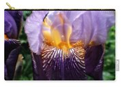 Purple Flowers In England Carry-all Pouch by Doc Braham