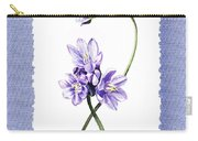 Purple Flowers Serenade Botanical Impressionism Carry-all Pouch