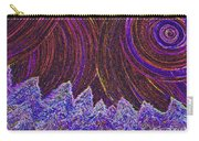 Purple Forest Moon Carry-all Pouch